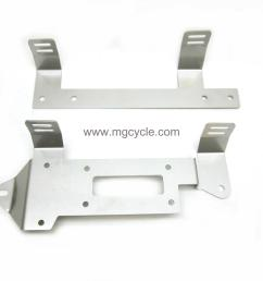 stainless side cover mount set convert 850 t3 850 lemans [ 1600 x 1200 Pixel ]