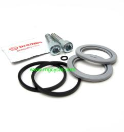 brembo caliper seal kit for f09 caliper rear sp1000 [ 1280 x 960 Pixel ]