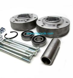 featured new brake flange wheel bearing carrier kit wide 850t3 v1000 g5 [ 1600 x 1200 Pixel ]