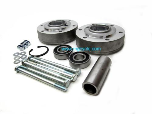 small resolution of featured new brake flange wheel bearing carrier kit wide 850t3 v1000 g5