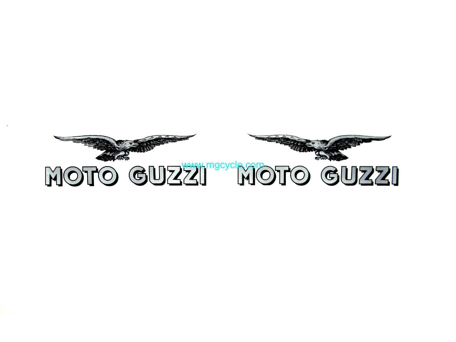 decal transfer : MG Cycle, Moto Guzzi Parts and