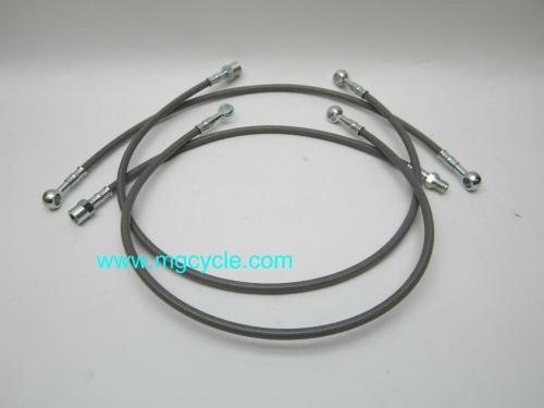 small resolution of stainless brake line kit 850 lemans 1976 1978