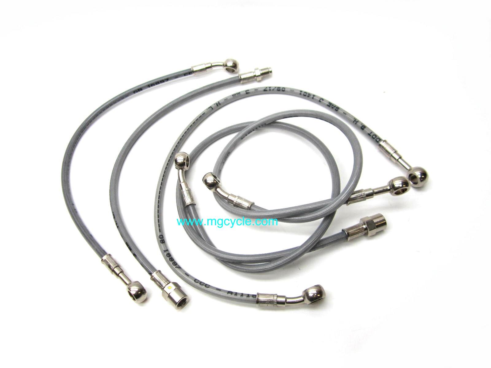 hoses fittings : MG Cycle, Moto Guzzi Parts and
