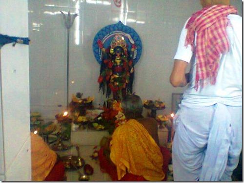 40 idol of goddess Kali