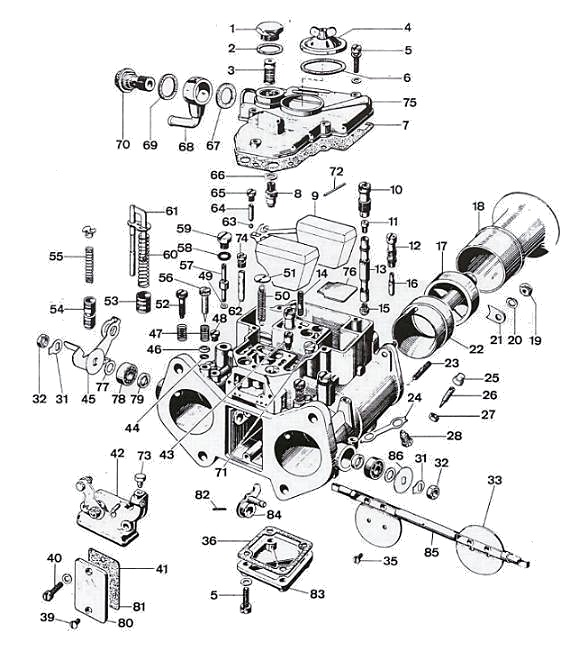 Weber 45 DCOE Carburetor Setup : How-To Library : The MG