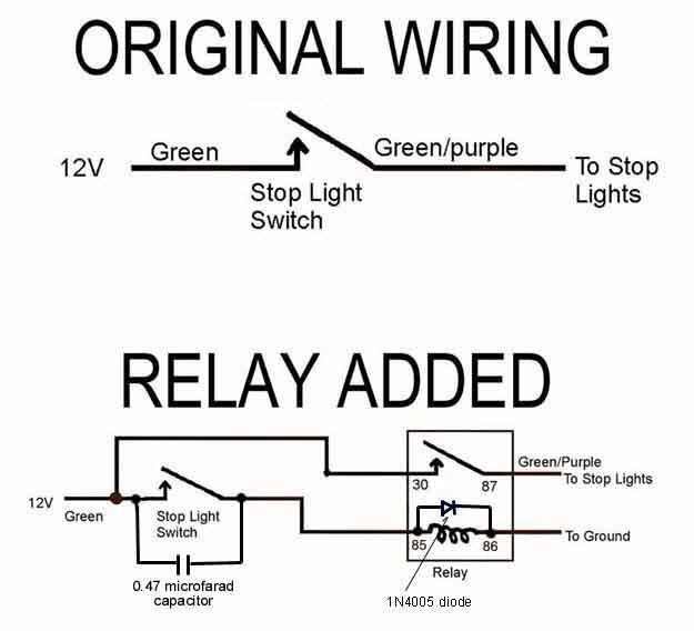 Installing a Brake Light Relay : How-To Library : The MG