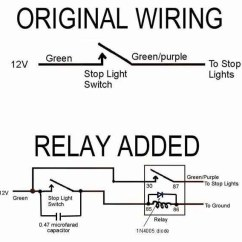 Wiring Diagram For A Two Way Dimmer Switch Spark Plugins Installing Brake Light Relay : How-to Library The Mg Experience
