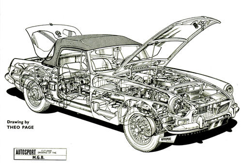 Technical drawings : MGB & GT Forum : MG Experience Forums