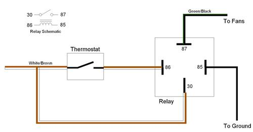 how to add Relay to cooling fans? : MGB & GT Forum : MG