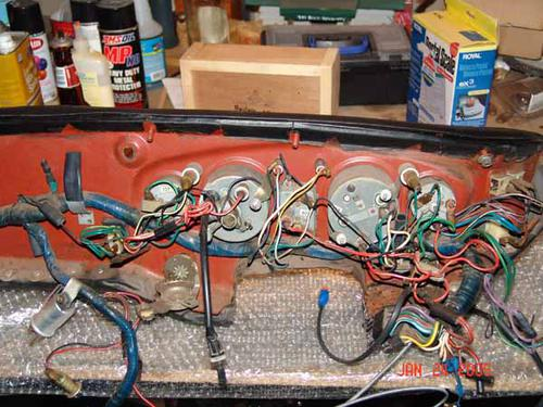 Morris Minor Wiring Diagram Any Pictures Of Where The Wire Harness Clips To The