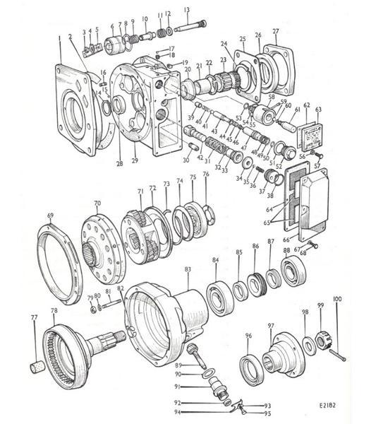 Speedometer drive gear orientation & thrust washer in