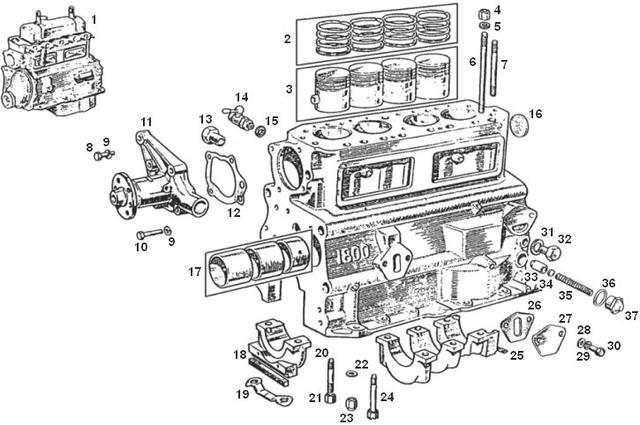 Any other sources for MGB part drawings? : MGB & GT Forum