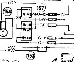 Location of Inline Fuse for Hazards in 1971 MGB ?? : MGB