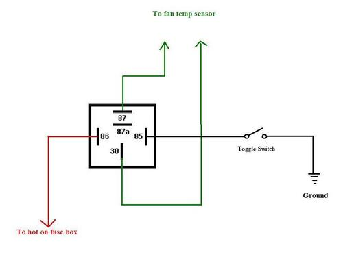 Thermo Fan Switch Bypass : MGB & GT Forum : MG Experience