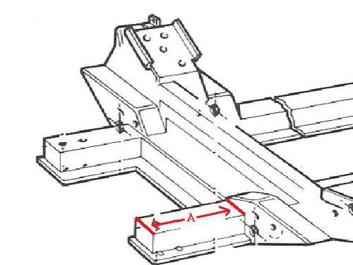 Front frame measurements please... : MG Midget Forum : MG