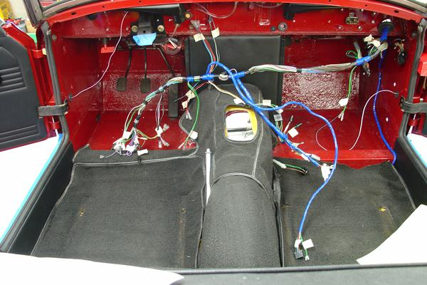 Wire Harness Routing 69 Midget MG Midget Forum MG Experience