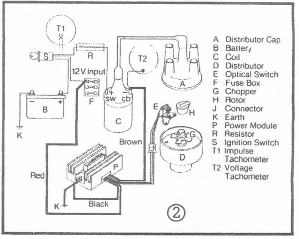 Wiring Mallory Ignition Diagram Coil Mallory Dist Wiring