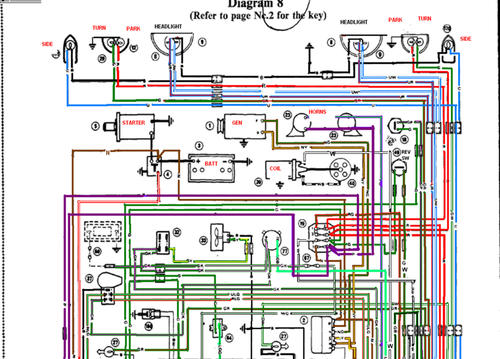 Wiring Diagram MG Midget Forum MG Experience Forums The MG