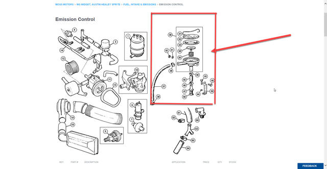 Emission System : MG Midget Forum : MG Experience Forums
