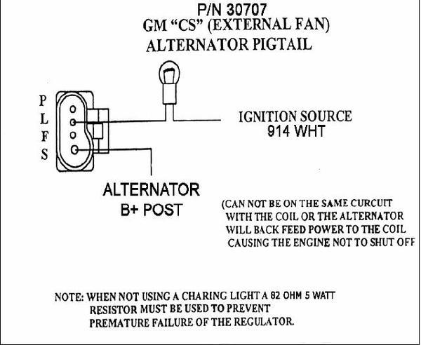 two wire alternator wiring diagram Gm 4 Wire Alternator Wiring Diagram gm single wire alternator wiring mg engine swaps forum mg gm 4 wire alternator wiring diagram