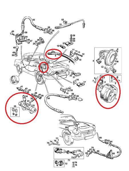 Converting from single to dual braking system : MGC Forum