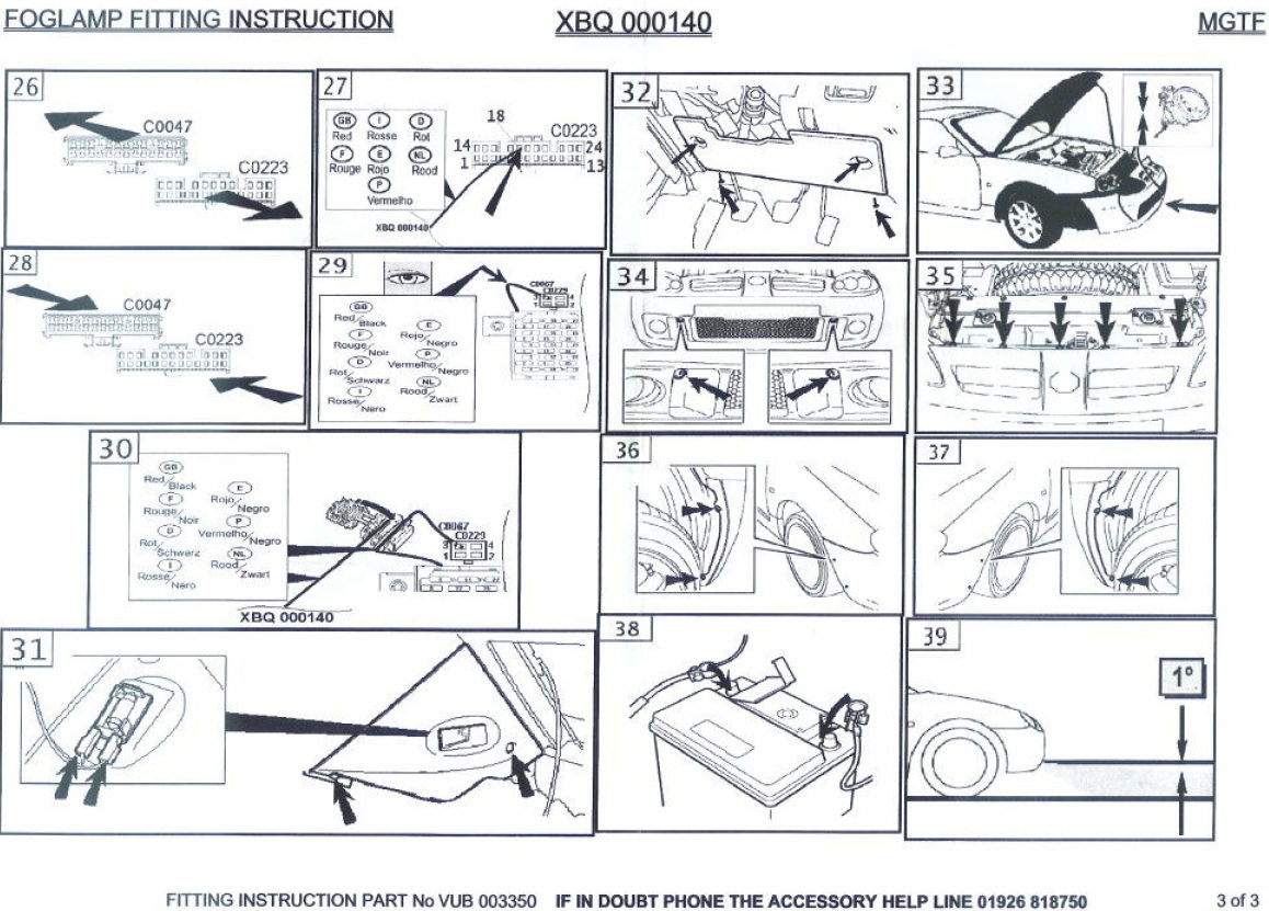 mg tc wiring diagram crutchfield and guide 1948 1946
