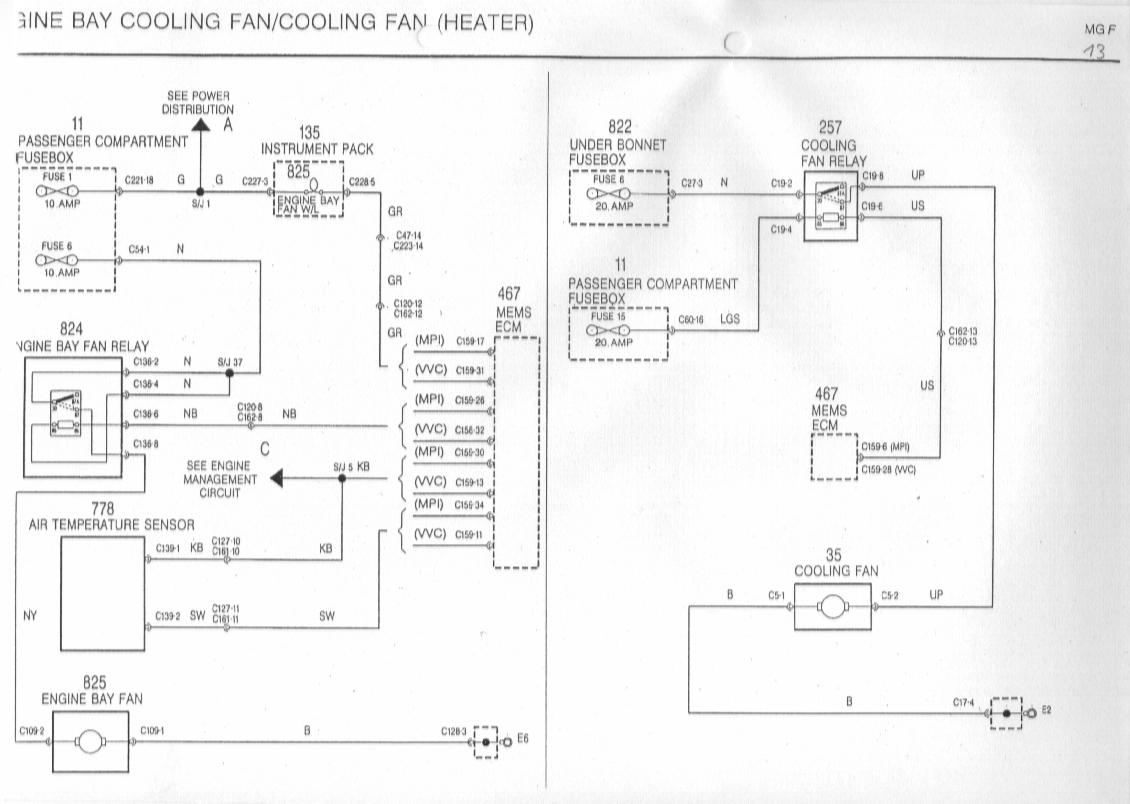 11 Pin Relay Schematic Diagram Mgf Schaltbilder Inhalt Wiring Diagrams Of The Rover Mgf