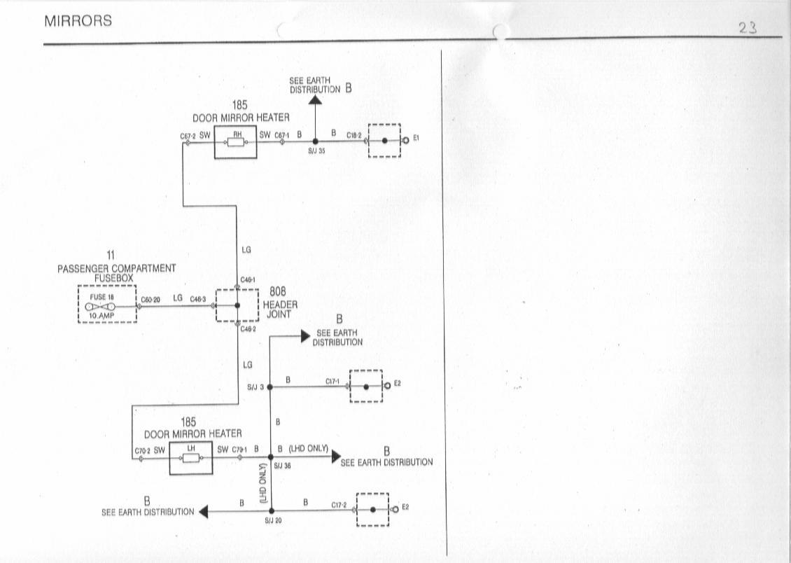 mgf wiring diagram star delta starter schaltbilder inhalt diagrams of the rover