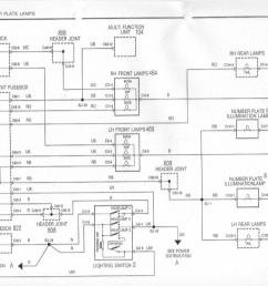 rover 75 headlight wiring diagram [ 1130 x 804 Pixel ]