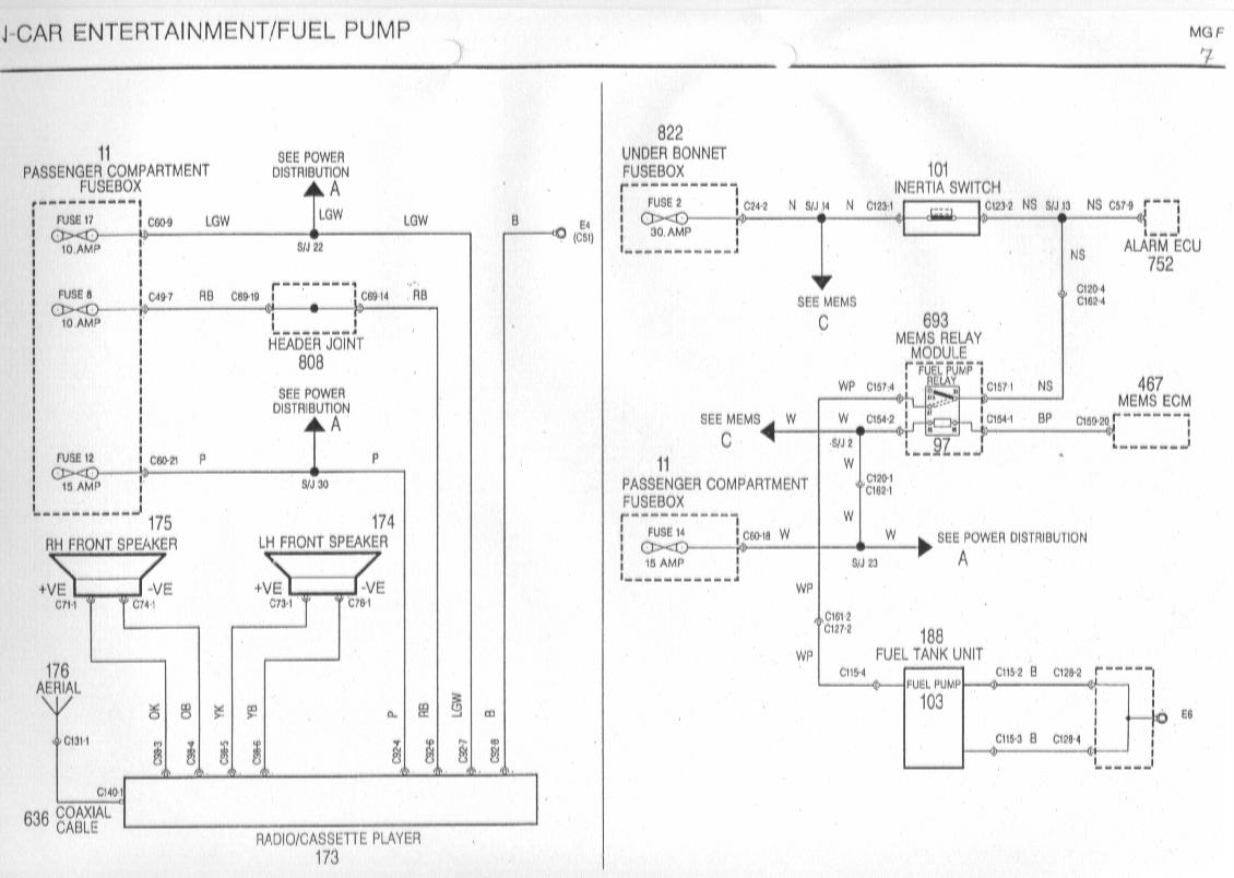 Amp Wiring For 1998 Bmw E39 Mgf Schaltbilder Inhalt Wiring Diagrams Of The Rover Mgf