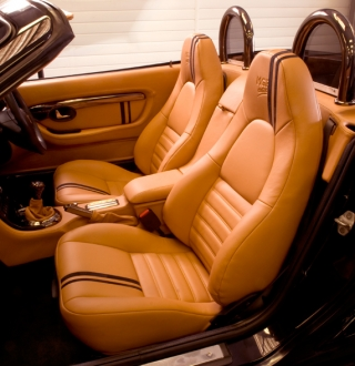 MGF Centre  Store  Alcantara  Leather  Leather