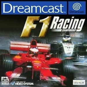 Retro: F1 racing championship Dreamcast