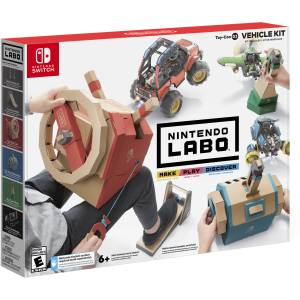 Switch: Labo Toy-Con 03: Vehicle Kit