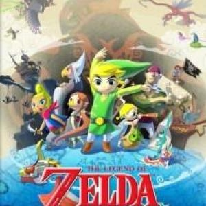 Wii U: Legend Of Zelda: Wind Waker HD (käytetty)