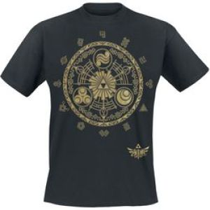 The Legend of Zelda T-Shirt Golden Map Size XL