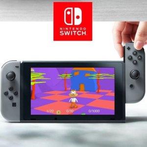 Switch: Nintendo Switch - Pelikonsoli (Harmaa)