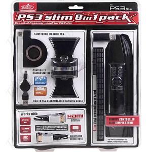 PS3: PS3 slim 8 in 1 paketti