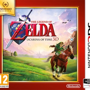3DS: The Legend Of Zelda: Ocarina Of Time 3D (Nintendo Selects) (käytetty)