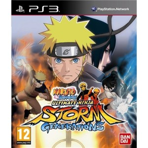 PS3: Naruto Shippuden - Ultimate Ninja Storm Generations (käytetty)