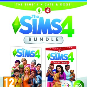 PS4: The Sims 4 plus Cats and Dogs bundle