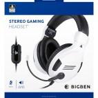 PS4: PS4 Gaming Headset V3 White Sony licensed