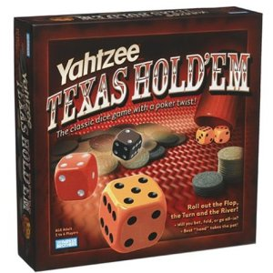 yahtzee texas hold em (käytetty)