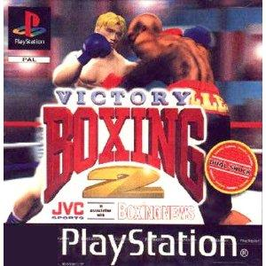 PS1: Victory Boxing 2 (käytetty)