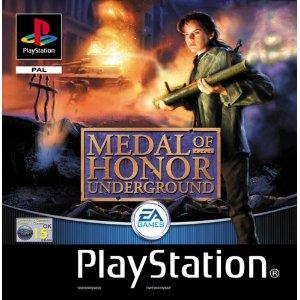 PS1: Medal of Honor Underground (Platinum) Boxed (käytetty)
