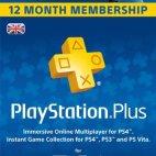 PS4: Playstation Plus -kortti 12 kuukauden jäsenyys