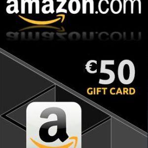 PC: Amazon €50 Gift Card (Saksa) (latauskoodi)