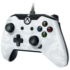 Xbox One: PDP Deluxe wired XB1/PC controller white Camo