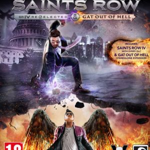 Xbox One: Saints Row IV Re-elected - Gat Out of Hell - with Devils Workshop DLC Pack (käytetty)