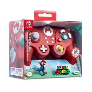 Switch: Switch Smash Pad Pro Mario wired Controller