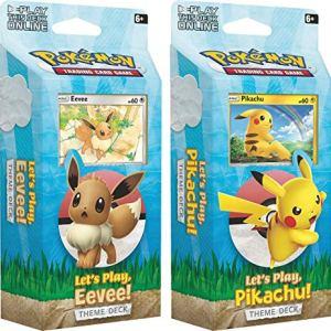 Poke Lets Play, Pikachu/Eevee Theme Deck